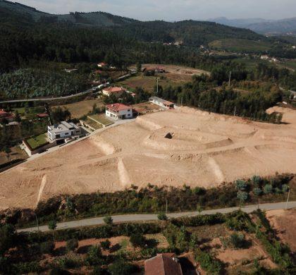 Bouwterrein van Easy Living Portugal vanuit de lucht